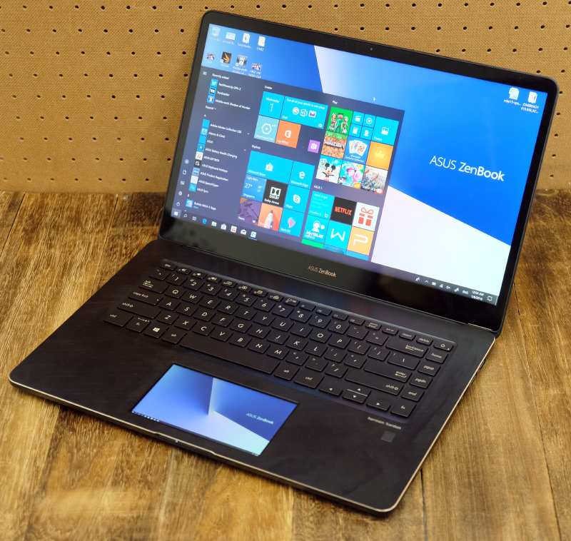 The ZenBook Pro 15 might be pricey but it delivers the goods.