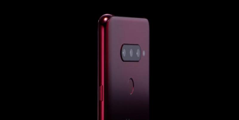 The LG V40 ThinQ. <br>Image source: LG