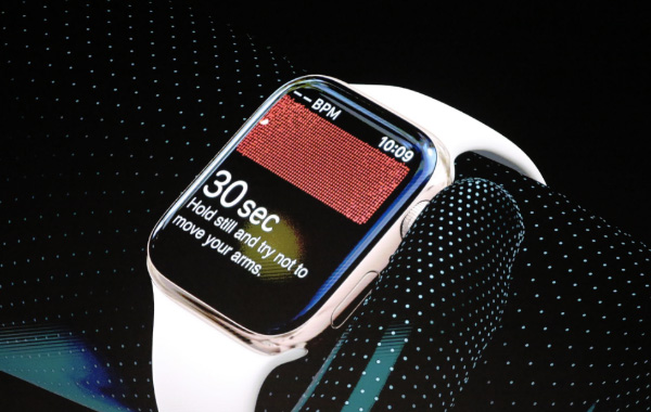 The Apple Watch Series 4 can do an ECG in just 30 seconds.