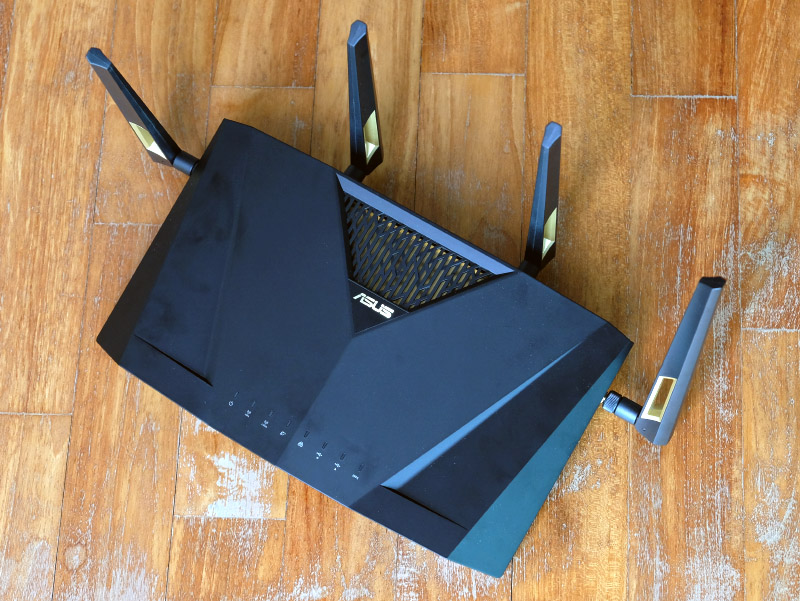 802.11ax shows a lot of promise, as does the ASUS RT-AX88U router.