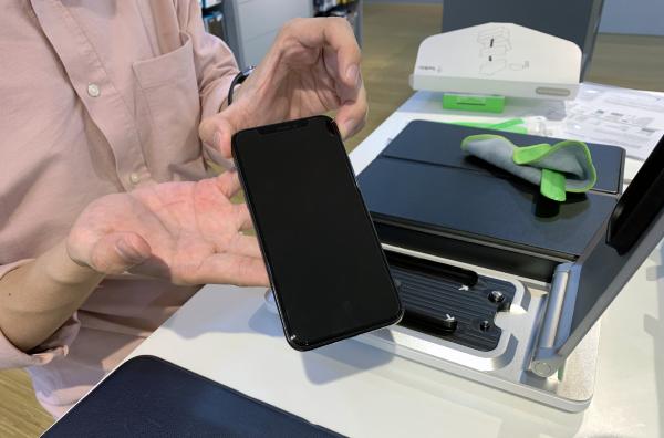 Belkin's TrueClear Pro Advanced Screen Care screen protector