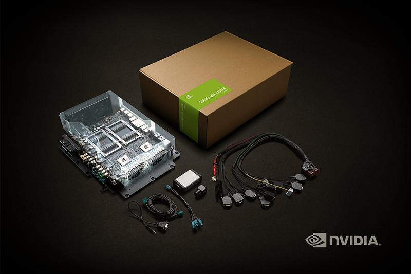 NVIDIA DRIVE AGX Xavier developer kit. (Source: NVIDIA)