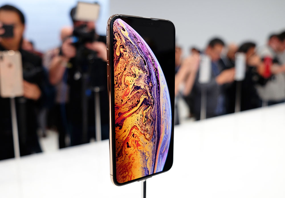 The Apple iPhone Xs Max.