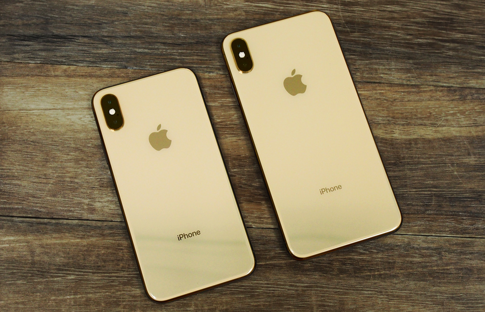 The Apple iPhone XS and XS Max.
