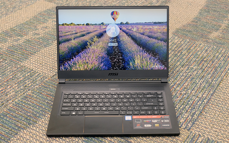 A closer look : MSI GS65 Stealth Thin 8RF notebook review