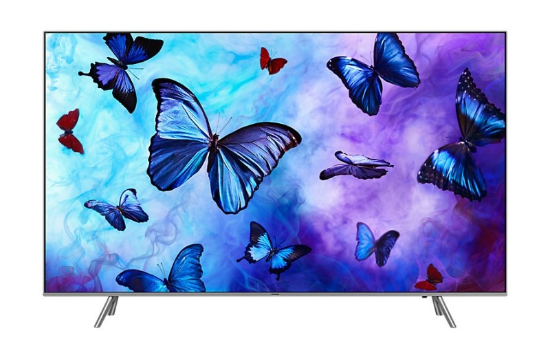 Samsung 49-inch Ultra-HD 4K Smart, Q6 QLED TV.