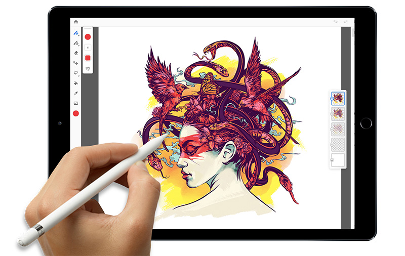 Project Gemini allows for a better drawing and painting experience.