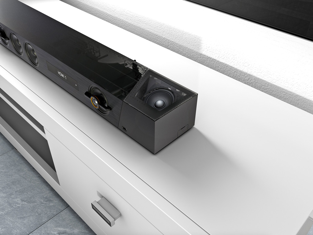 Step into the new era of Dolby Atmos soundbars with Sony