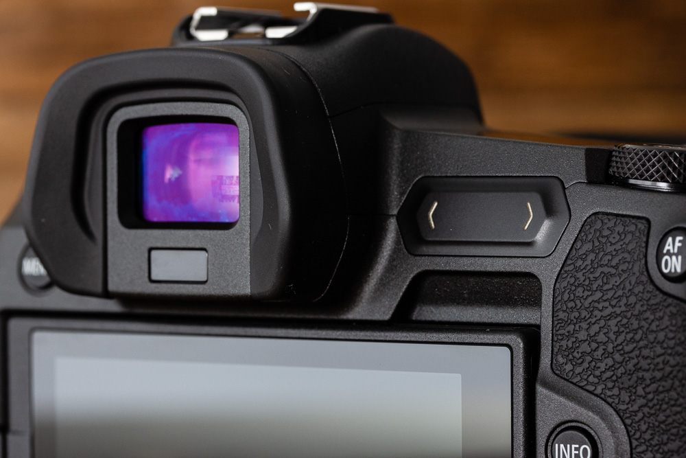 The M-Fn bar is a touch-sensitive stripe that sits next to the EVF.