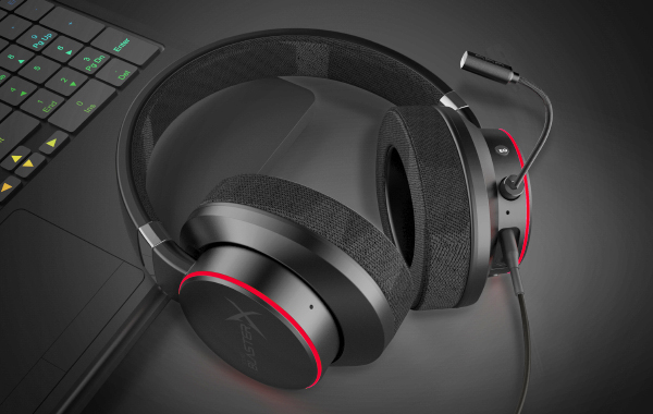 For $99, Creative's new Sound BlasterX H6 gaming headset