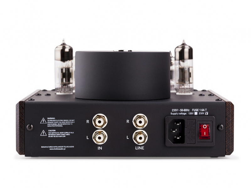 The Echo features a single RCA output so you can use it as a pre-amplifier. (Image source: Feliks Audio)