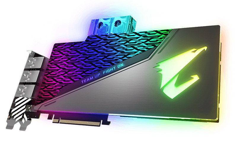 Gigabyte Aorus GeForce RTX 2080 Ti Xtreme WaterForce WB