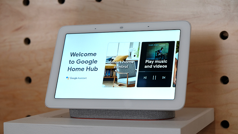 Google's Home Hub speaker is also a smart display (Now