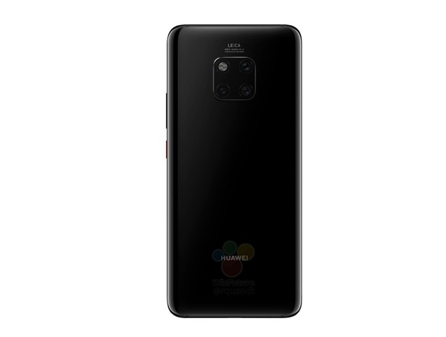 Purported image of the back of the Huawei Mate 20 Pro. <br> Image source: WinFuture.de