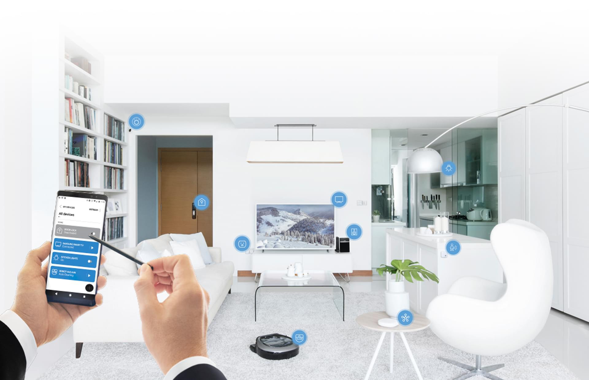 Samsung's new SmartThings Sensors makes monitoring and