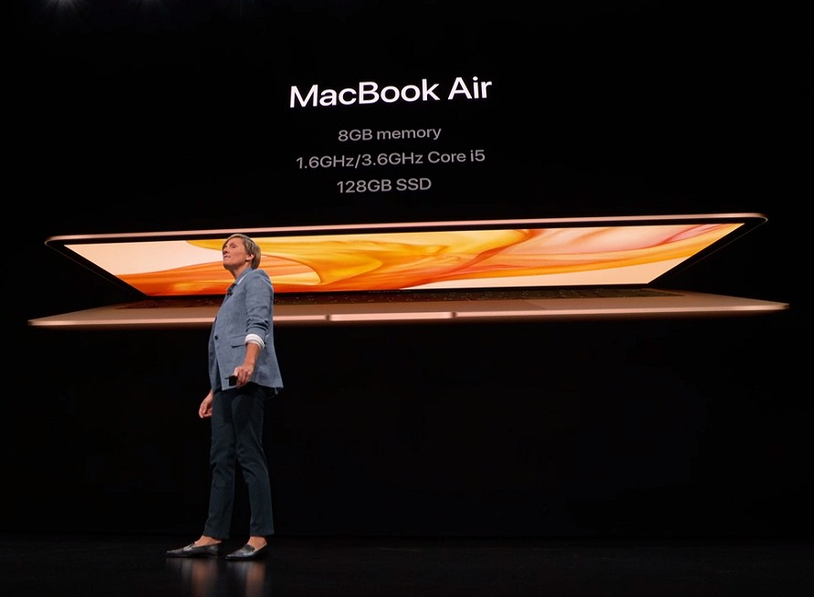 The base specs of the new MacBook Air.