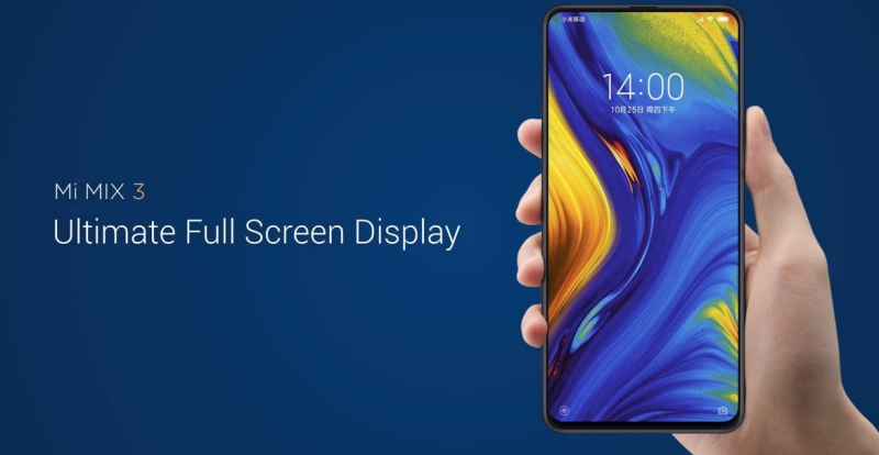 f57150b7e5 ... Xiaomi Mi Mix 3 has a magnetic slider to hide front-facing cameras.  Image source  MIUI forum