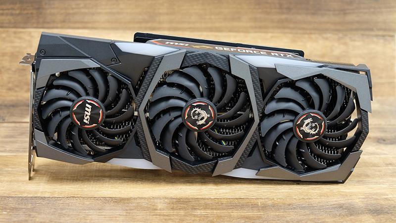 MSI GeForce RTX 2080 Gaming X Trio : NVIDIA GeForce RTX 2080