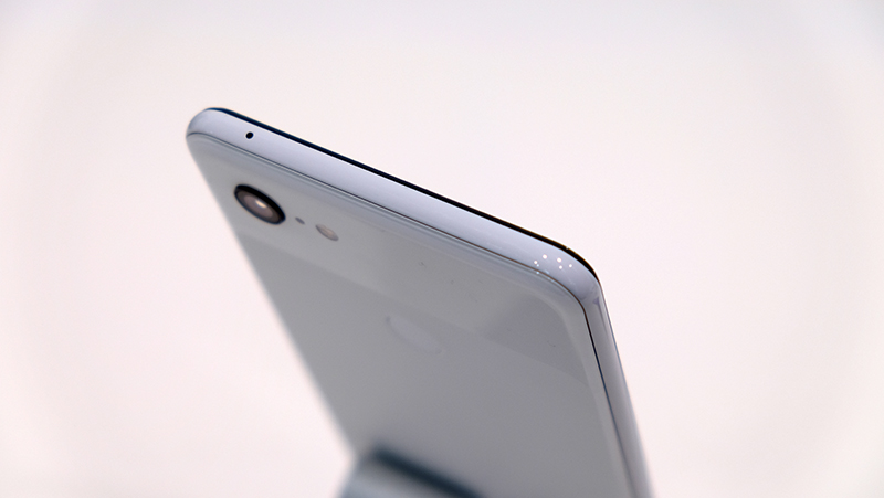 The edges of the phone have a nice sheen to them.