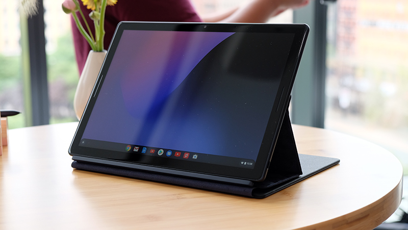 The Google Pixel Slate is a tablet that runs Chrome OS with