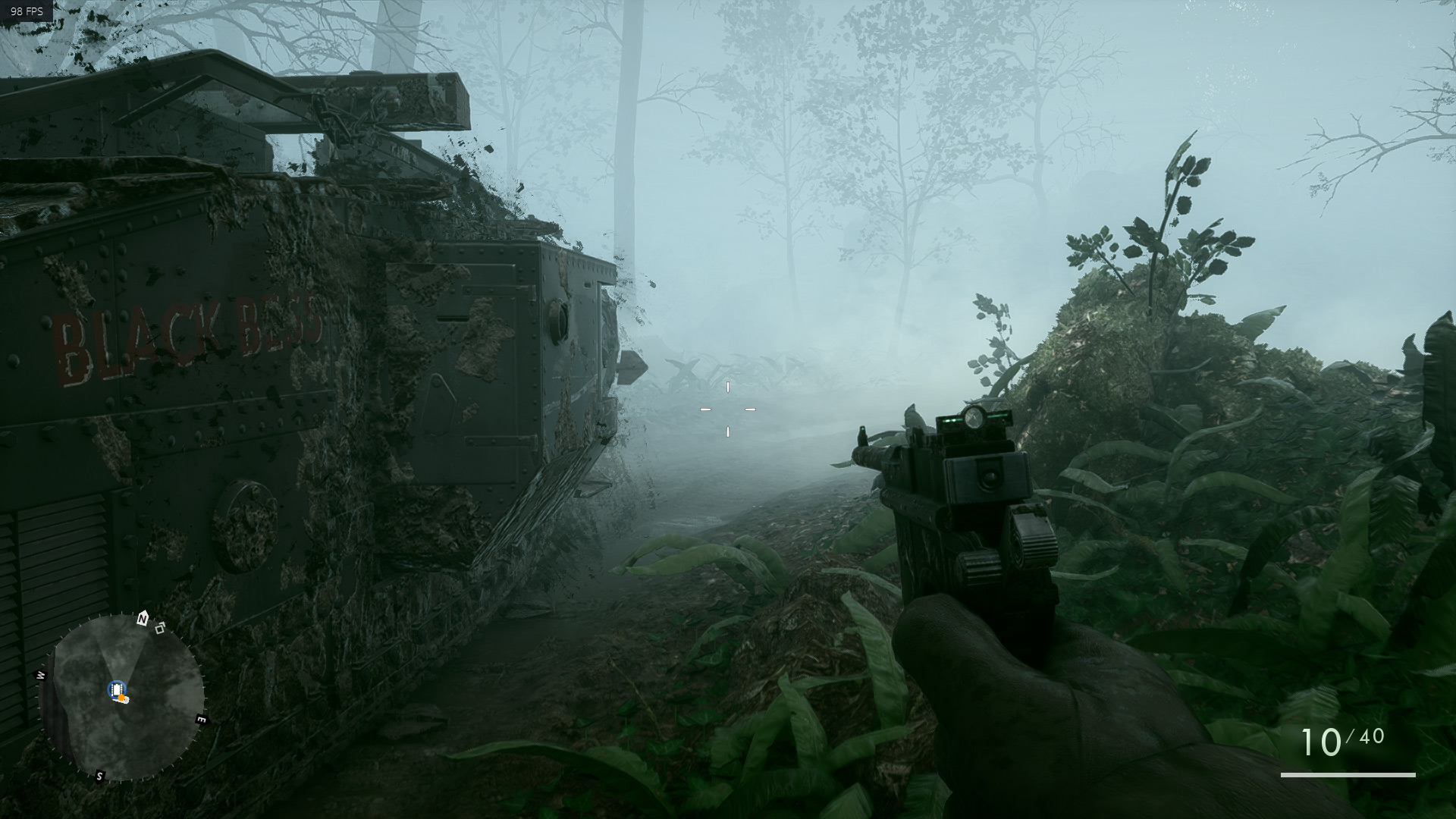 That's some stunning texture and foliage work for a 2016 game.