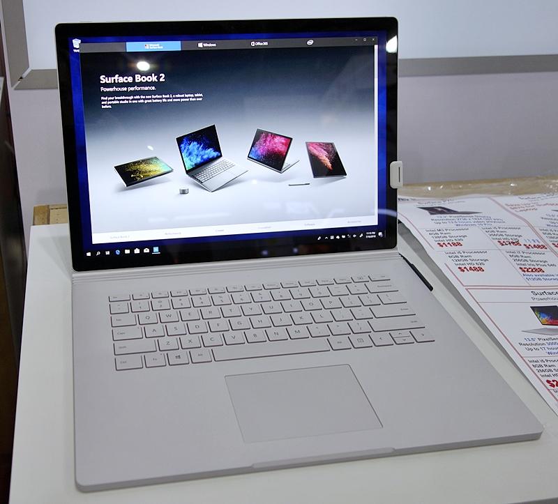 Non-Gaming Notebooks & Desktops - 2 : Sitex 2018 highlights