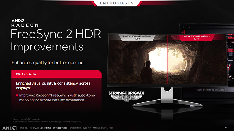 AMD's Radeon Software Adrenalin 2019 Edition is redesigned