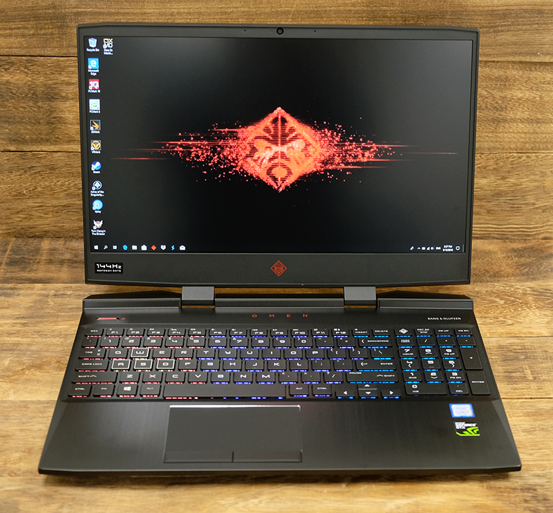 A closer look : HP Omen 15 review: Fast, and with a ton of memory ...