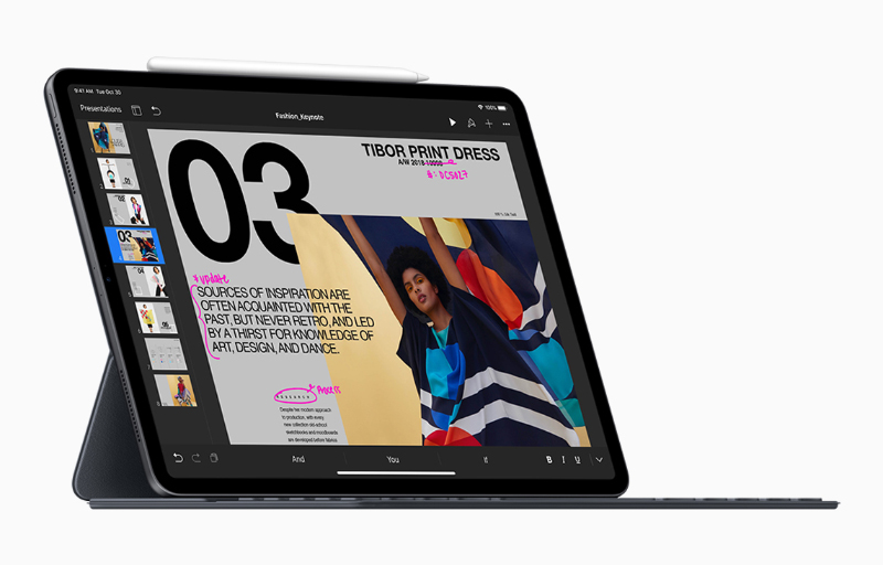 With its blistering performance and Smart Keyboard Folio, the iPad Pro blurs the line between tablet and notebook.