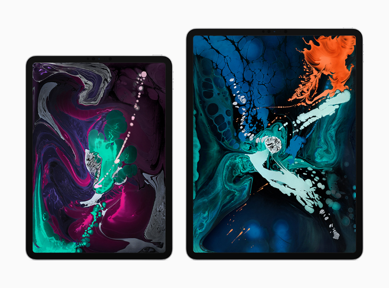 You can get the new iPad Pro with an 11-inch or 12.9-inch Liquid Retina display.