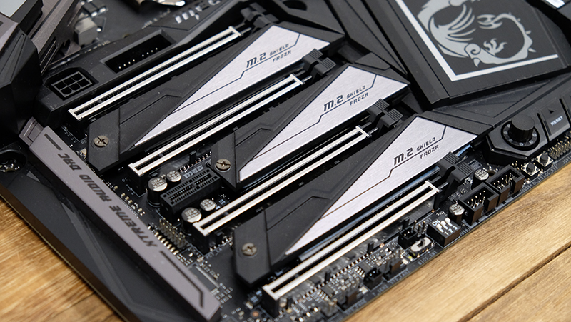 MSI MEG Z390 Godlike : Intel Z390 motherboard shootout: Which