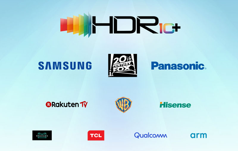 The key members in the HDR10+ Alliance. (Image source: Samsung.)