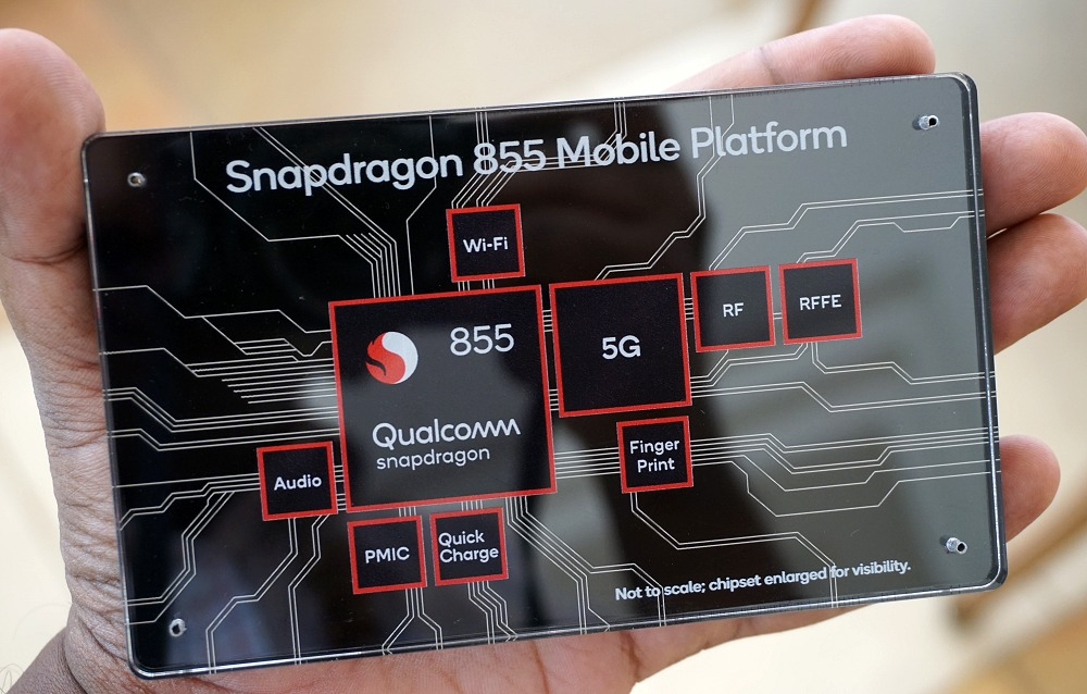The Snapdragon 855 and its multi-gigabit connectivity is