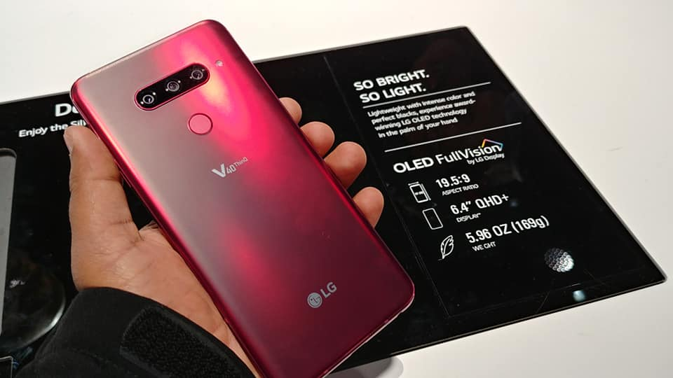 The LG V40 ThinQ is finally available in Singapore