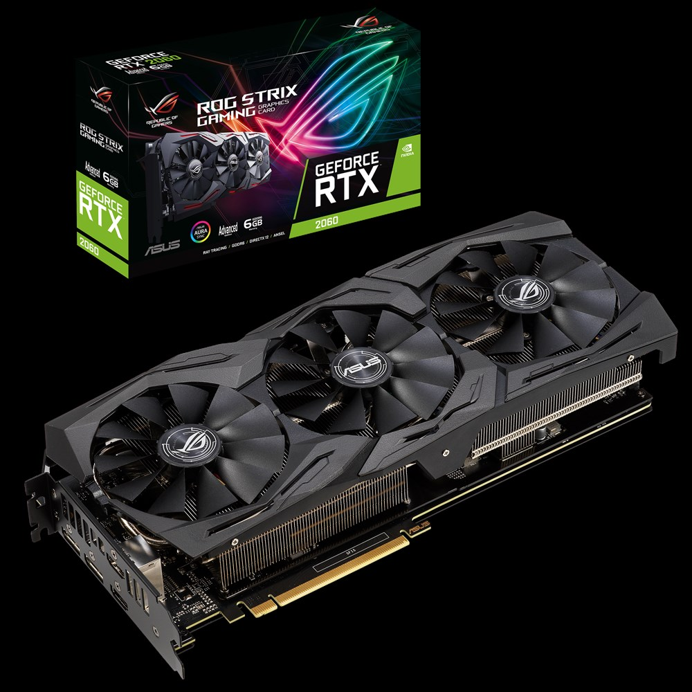 ASUS ROG Strix GeForce RTX 2060 Advanced edition 6GB GDDR6 (Image source: ASUS)