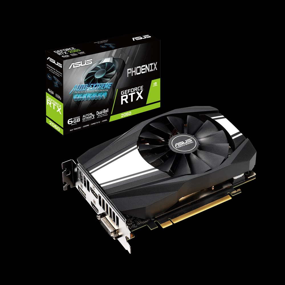 ASUS Phoenix GeForce RTX 2060 6GB GDDR6 (Image source: ASUS)