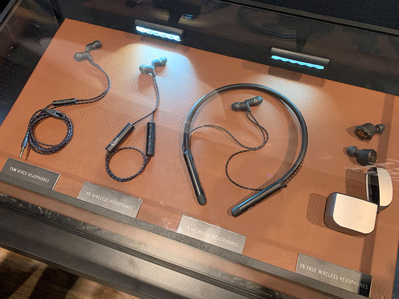 The current T5 headphones lineup consists of the wired T5M, T5 Wireless, T5 Neckband, and the new T5 True Wireless.
