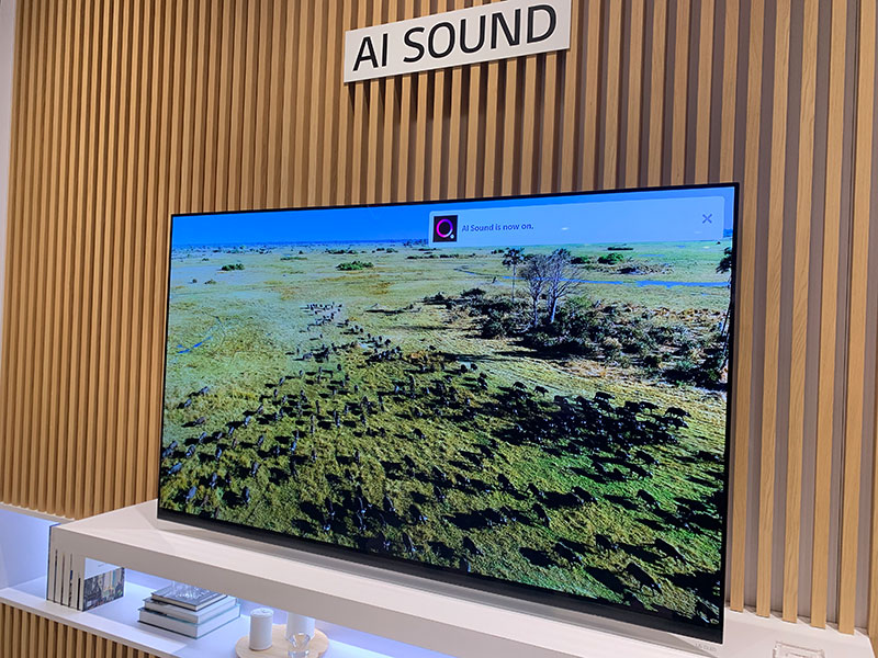 LG's 2019 OLED and NanoCell TVs gain new AI processors and