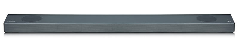 The SL9YG is a really slim soundbar at only 57mm deep.