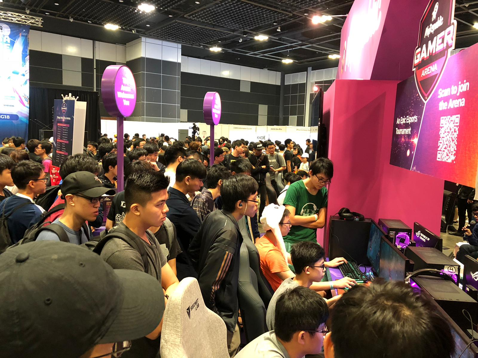 MyRepublic GAMER Arena - League of Legends Esports Tournament at Anime Fest Asia 2018