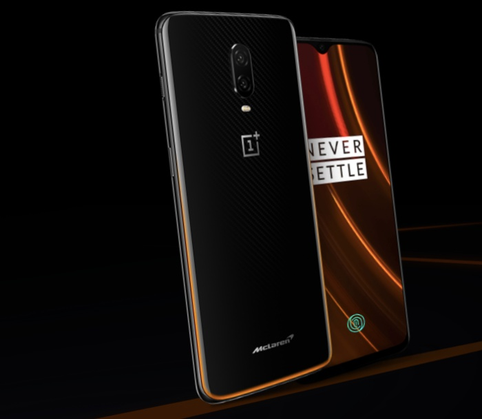 The OnePlus 6T McLaren Edition comes with 10GB RAM. <br>Image source: OnePlus