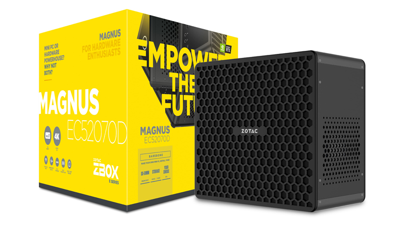 Check out Zotac's latest SFF gaming desktop that features
