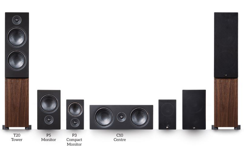 The entire Alpha series line-up has options for every space.