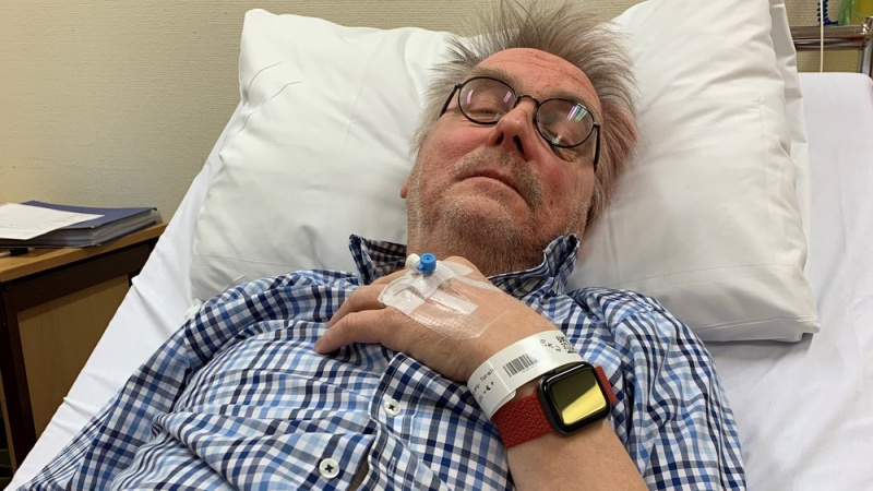 67-year-old Toralv Østvang fainted and fell in his bathroom. His Apple Watch Series 4 alerted emergency authorities. <br>Image source: NRK