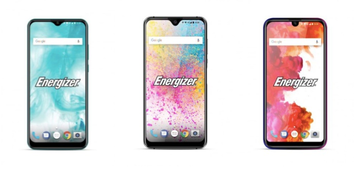 Left to right: the Energizer U650S, U620S and U570S. <br>Image source: 9to5Google