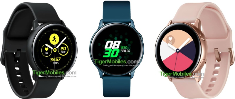 Purported renders of the upcoming Samsung Galaxy Sport Watch. <br>Image source: TigerMobiles