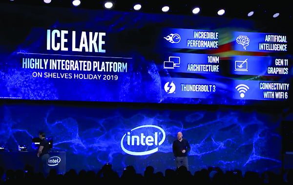 Intel demos 10nm Ice Lake SoC, to come in products by end of