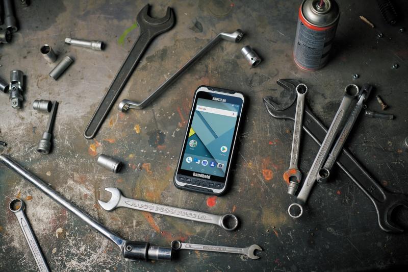 The Handheld Nautiz X6 phone.