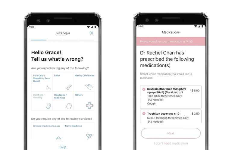 WhiteCoat's app will let you video call your doctor and get