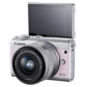 Canon EOS M100 Kit, Pink (EF15-45mm IS STM)